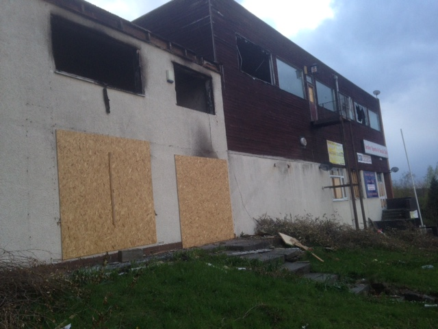 Farnley Sports and Social Club was hit by a blaze last month