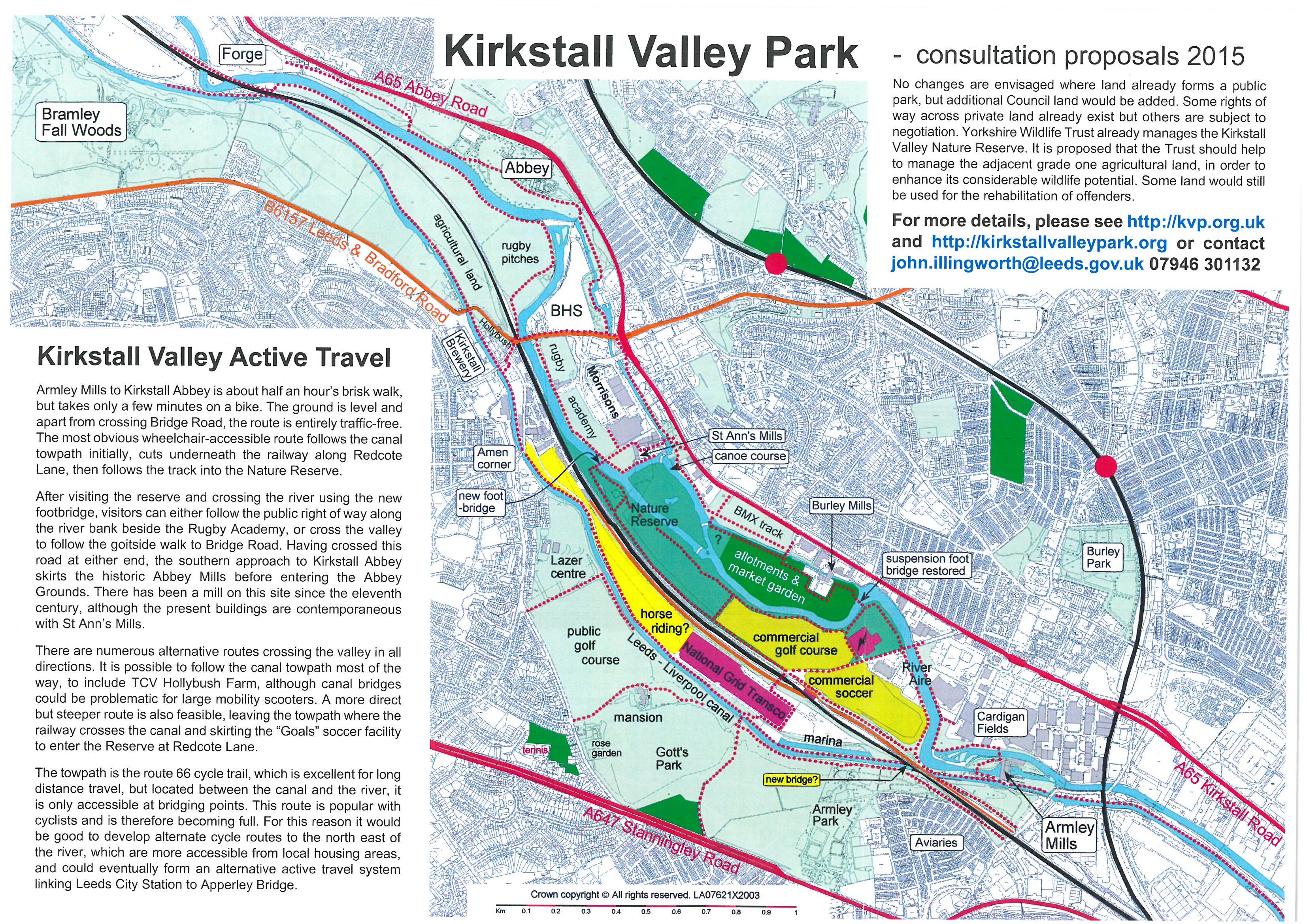 kirkstall valley park