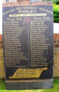 Rodley memorial