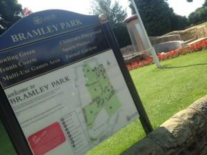 war memorial bramley park