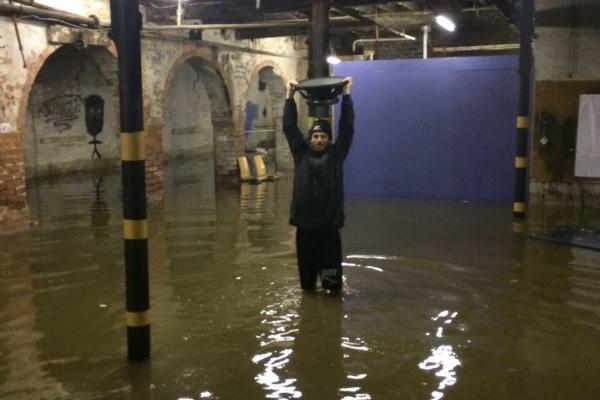 Freedom mills Kirkstall Road Leeds flooding