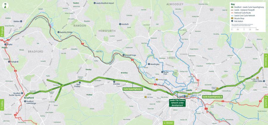 cycle superhighway Leeds