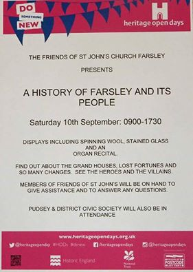 farsley st john's history