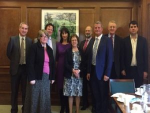 Leeds MPs recentyle met with the Government to disuss flood defences