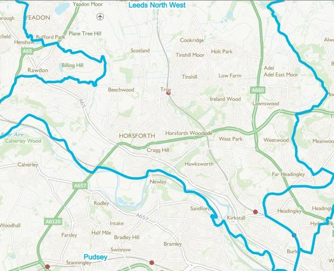 leeds north west constituency proposal