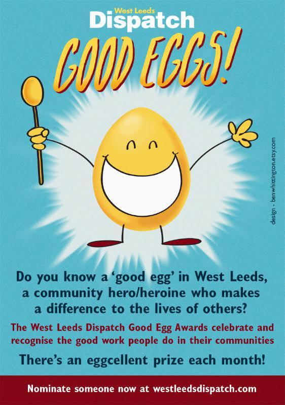 west leeds dispatch good eggs leaflet
