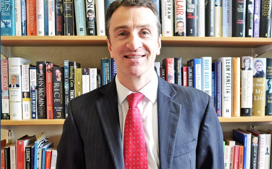 fulneck school principal Paul Taylor