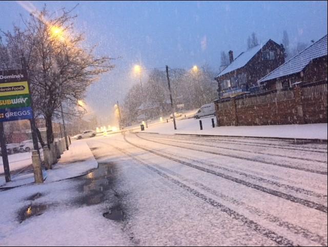 snow pudsey road