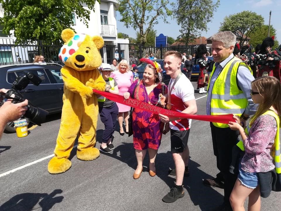 pudsey carnival 2018 opening