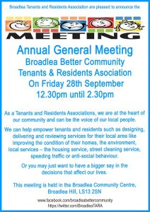 Broadlea Annual General Meeting 2018