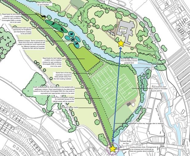 kirkstall flood defences plans