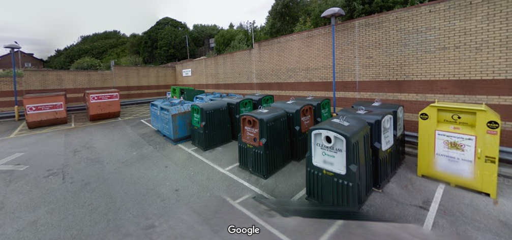 swinnow morrisons recycling point