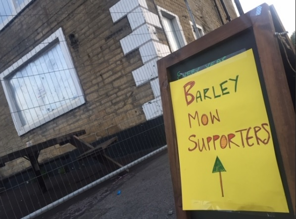 barley mow supporters