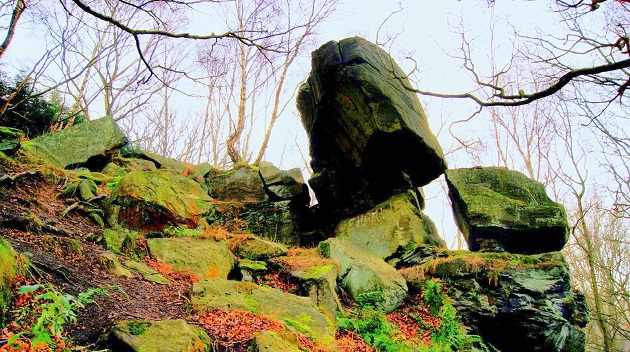 Calverley woods hangstone