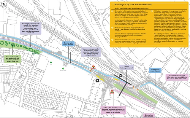 a647 bus improvements