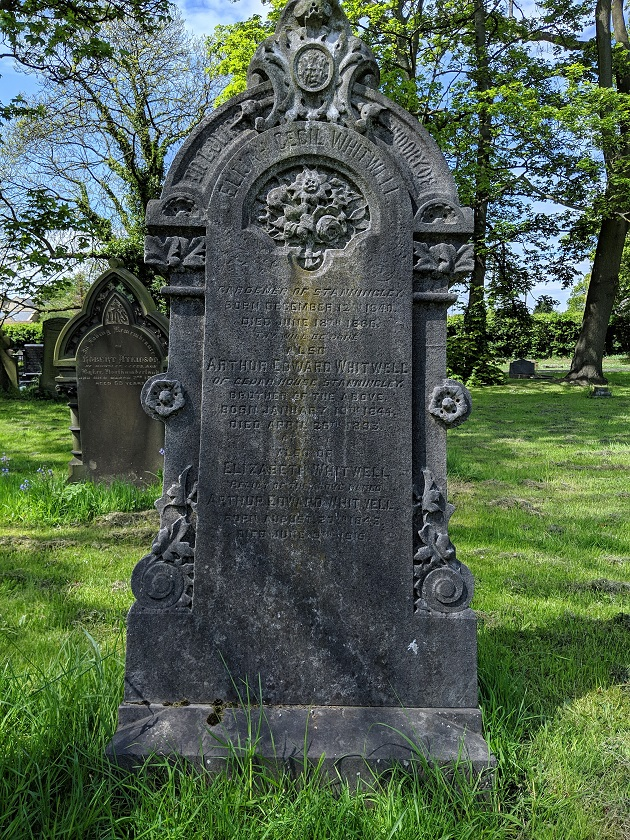 stanningley gardeners grave