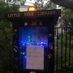 newlay little free library carry franklin tribute