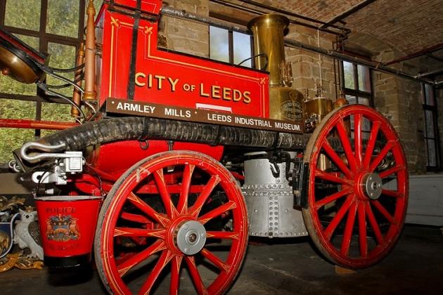 leeds industrial museum fire engine