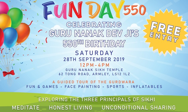 fun day 550 guru nanak sikh temple