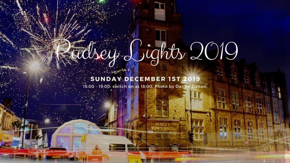 pudsey xhristmas lights 2019