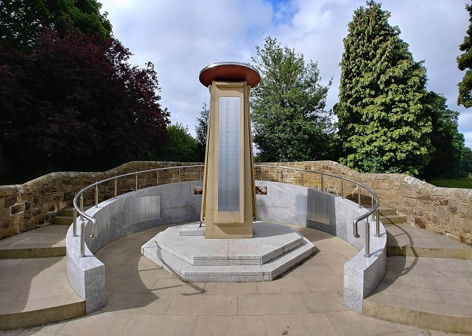 bramley war memorial VE Day
