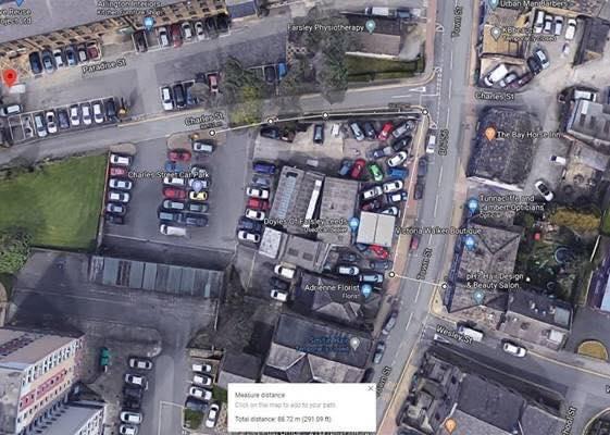 charles street car park farsley