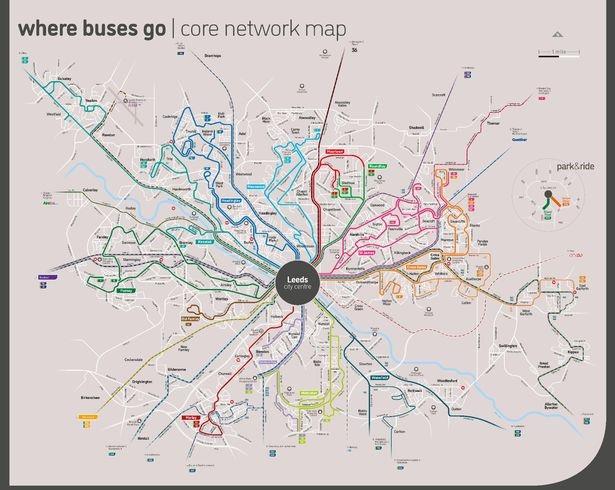 leeds bus map