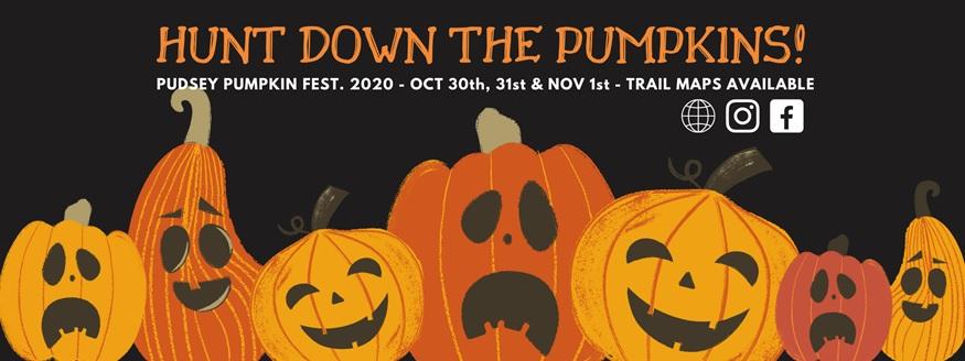 pudsey pumpkin festival 2020