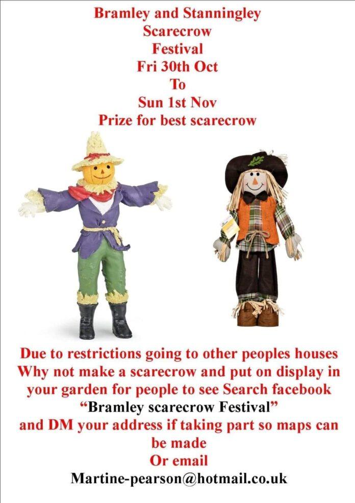 bramley scarecrow festival