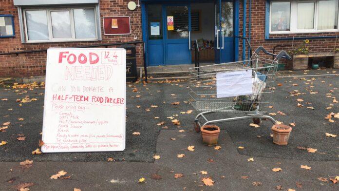 food parcel bramley community centre