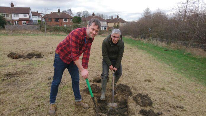 peter carlill tree planting