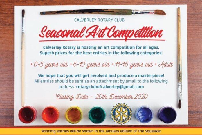 calverley rotary art contest