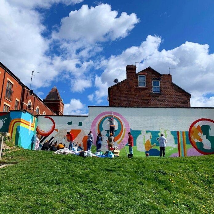 armley memory bank mural