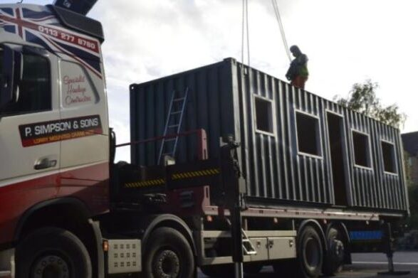 container home start
