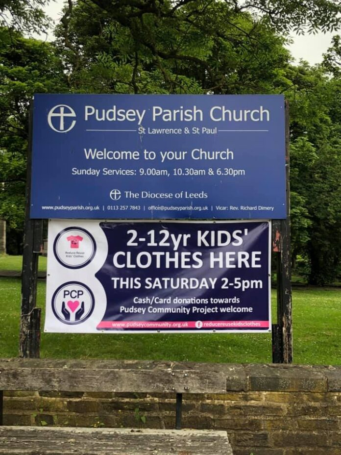 pudsey community project clothing