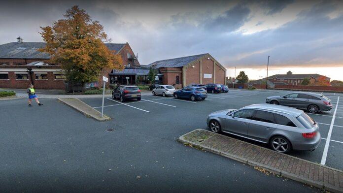 pudsey leisure centre car park