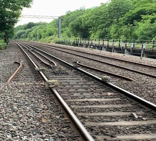 boulders redcote lane train line