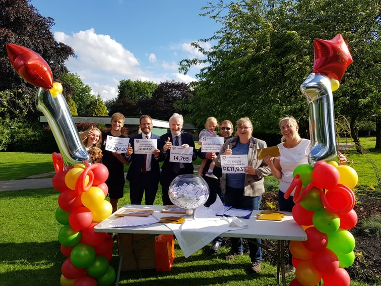 pudsey lottery anniversary