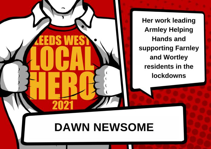 West Leeds Local heroes Dawn Newsome