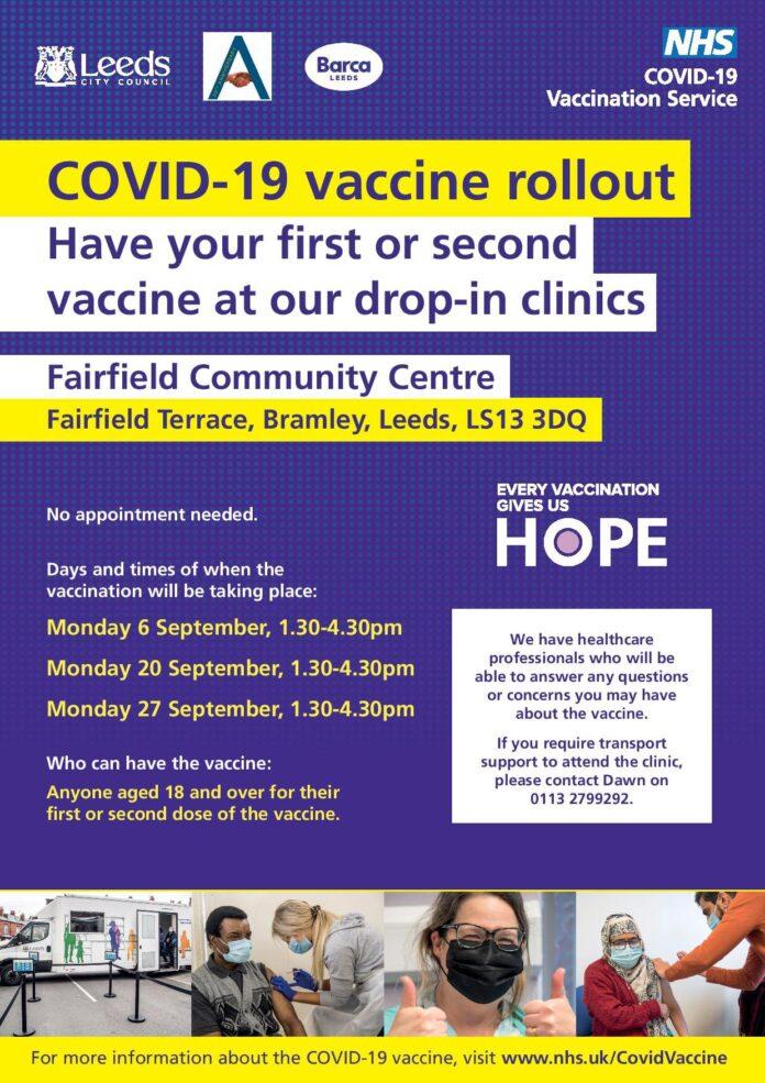 bramley vaccination clinic