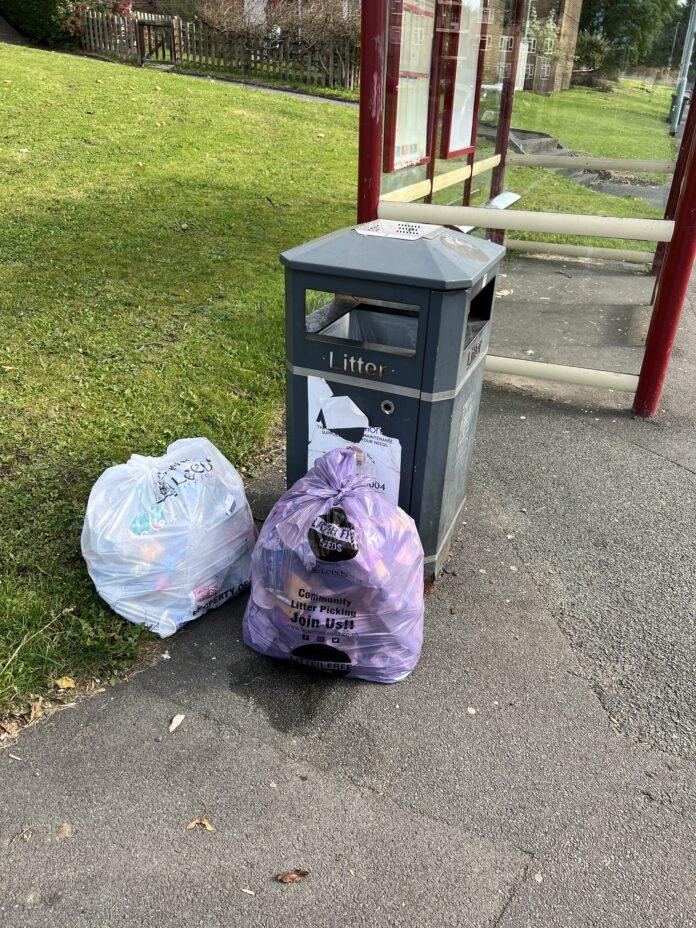 farnley litter pickers